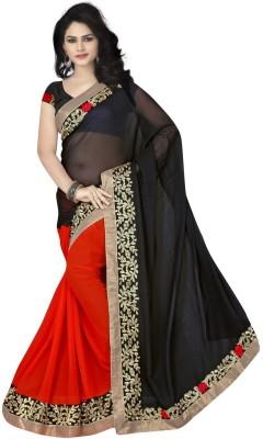 Radhe Krishna Creation Embriodered Fashion Lace Sari