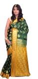 JCN Self Design Mysore Art Silk Saree (D...