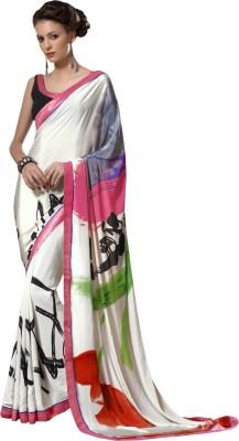 Navya Fashion Printed Fashion Crepe Sari