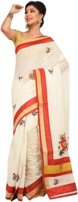 Charvi Embriodered Fashion Handloom Cotton Sari