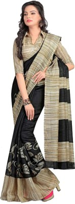 Green Moments Printed Bollywood Georgette Sari