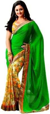 Seven Star Embriodered Bollywood Georgette Sari