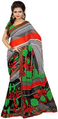 She Fashion Printed Fashion Georgette Sari