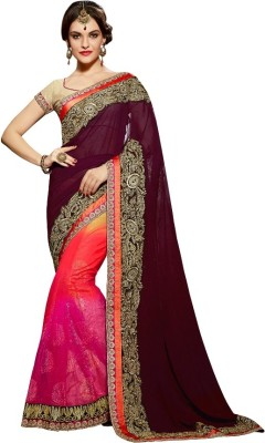 Reema Khandelwal Embriodered Bollywood Georgette Sari