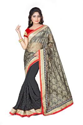 Anerra Solid Fashion Handloom Net Sari