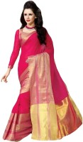 Shree Vaishnavi Self Design Bollywood Handloom Cotton Sari best price on Flipkart @ Rs. 1099