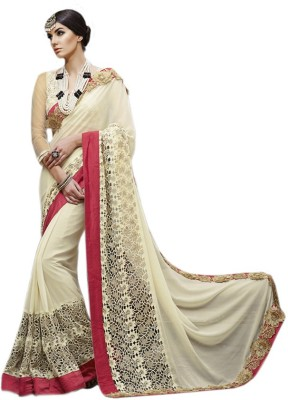 Vardhini Embriodered Fashion Georgette Sari