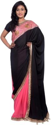 Kanchan Shree Floral Print Bollywood Net Sari