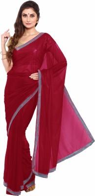 Aryahi Solid Fashion Lycra Sari