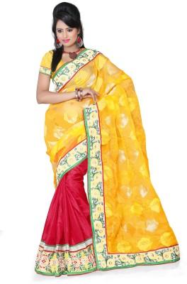 Aanchal Fashion Self Design Fashion Cotton Sari