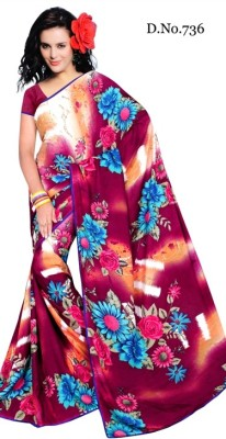 Indian Styles Printed Fashion Georgette Sari
