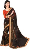 Tulaasi Plain Fashion Net Sari