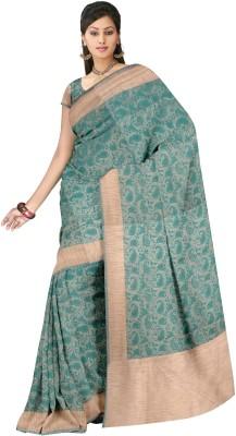 Zeeshan Sarees Self Design Banarasi Cotton Sari