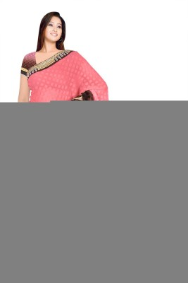 om12 Geometric Print Bollywood Lace Sari