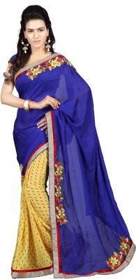 Trimurti Fashion Embriodered Fashion Handloom Silk Sari
