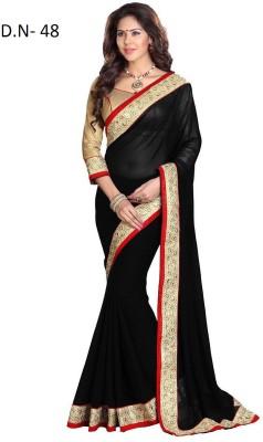 Shripati Self Design Bollywood Chiffon Sari
