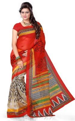 Aashita Printed Fashion Net Sari