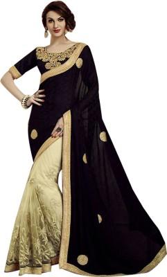 Shop Avenue Embriodered Fashion Net Sari