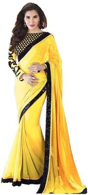 Shree Hans Creation Embellished Fashion Net Sari
