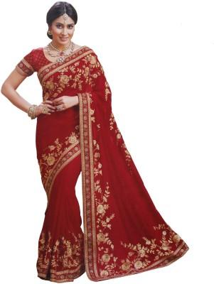 Sahaj Embriodered Fashion Georgette Sari