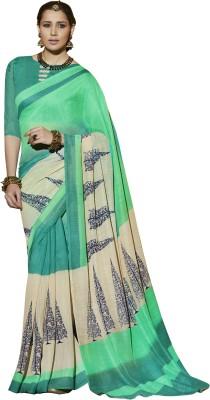 Viva N Diva Printed Bollywood Silk Sari