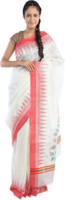 Kiara Crafts Woven Phulia Handloom Silk Sari