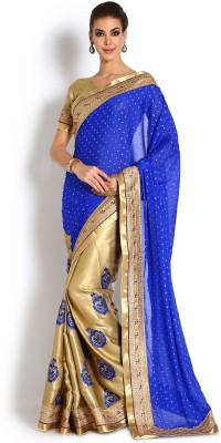 Soch Embriodered Fashion Crepe Sari