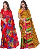 Araja Printed Fashion Georgette Saree (P...