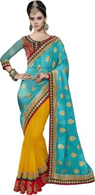 Melluha Embriodered Fashion Viscose Sari
