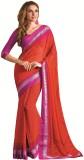 Vishal Saree Printed Fashion Georgette S...