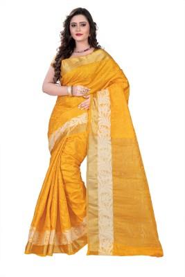E-Vastram Woven Fashion Tussar Silk Sari