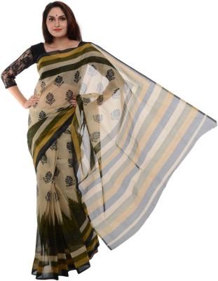 Samadhi Sarees Printed Venkatagiri Cotton Sari