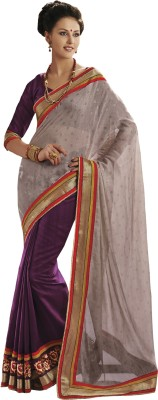 Krazzydesi Embriodered Bollywood Georgette Sari