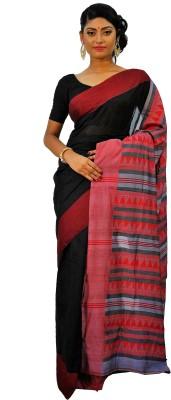 Rudrakshhh Woven Chanderi Handloom Silk Sari