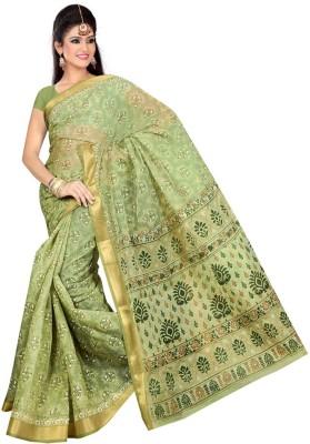 Srujan Printed Daily Wear Cotton Sari