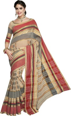 Dhammanagi Solid Daily Wear Handloom Cotton Sari