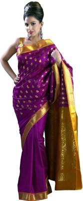 Shivam Fashions Self Design Fashion Art Silk Sari