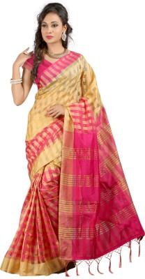 KIRAN Self Design Bollywood Cotton Sari