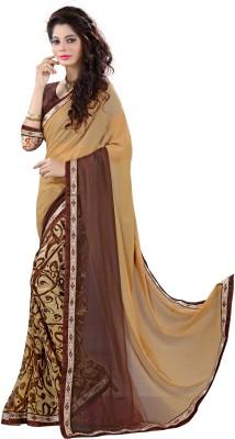 Rinkle Printed Bollywood Chiffon Sari