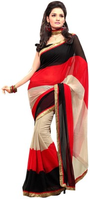 Aditya Fashion Embriodered Bollywood Pure Chiffon Sari