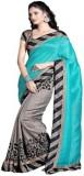 Jay Ambe Floral Print Fashion Chiffon Sa...