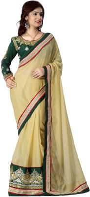 Styloshopper Self Design Fashion Chiffon Sari
