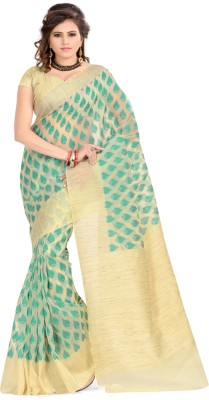 Izaa Fashion Self Design Fashion Cotton Sari