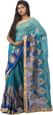Ghatkopar Cloth Stores (P) Ltd Embriodered Fashion Chiffon Sari