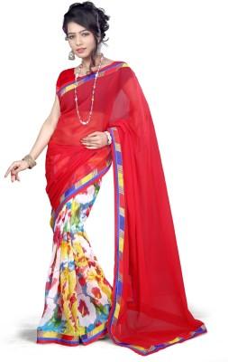 Vardan Prints Printed Bollywood Georgette Sari