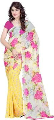 StyleOn Fashion Printed Bollywood Georgette Sari
