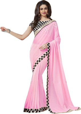 Shoponbit Printed Daily Wear Georgette Sari