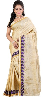 Needle Impression Self Design Daily Wear Silk Sari(Multicolor)