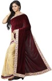 FastColors Embroidered Bollywood Velvet ...