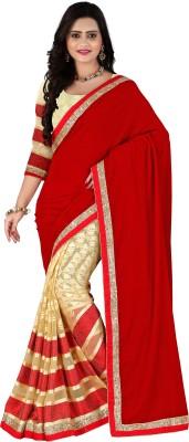J D S Fashion Self Design Fashion Handloom Velvet Sari